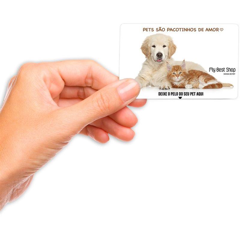 Cartão Removedor de Pelos - Bege
