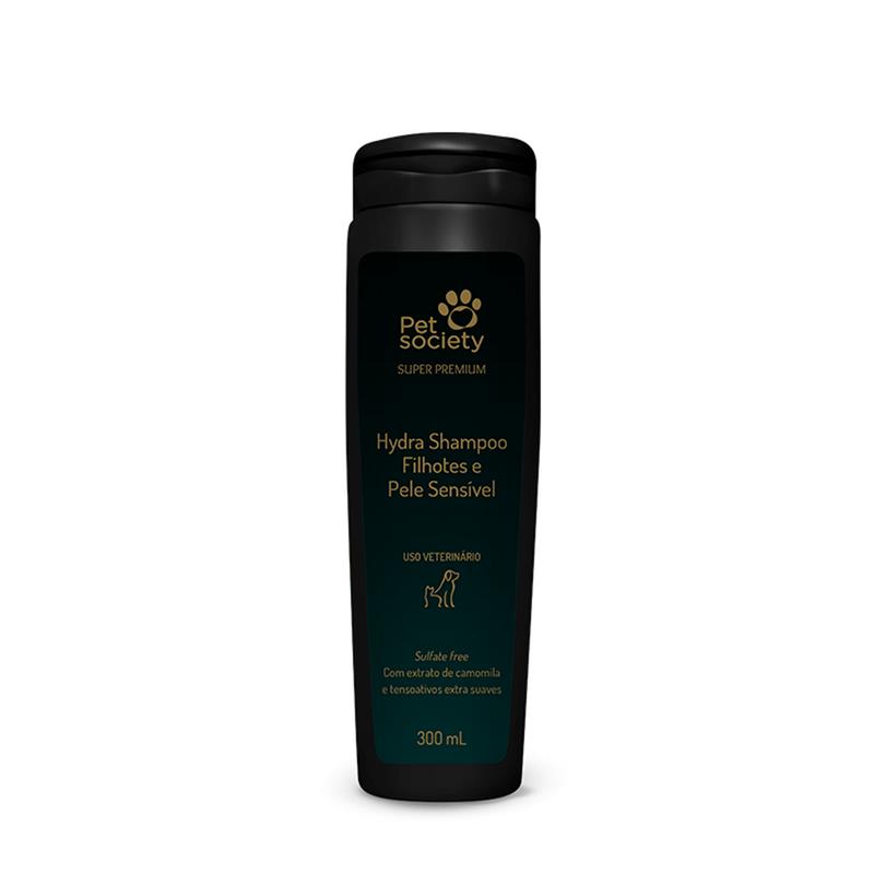 Hydra Shampoo Filhotes e Pele Sensível Super Premium 300ml